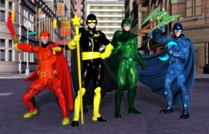 Donnies Heroes by MADMANMIKE