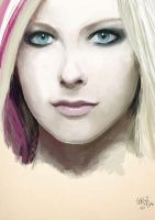 Avril Lavigne by CountJorge