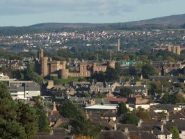 Inverness rooftops by piglet365