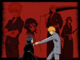 This is BLEACH - IchiRuki by jaydz-05