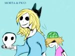 Pico And Morta by blackrose761