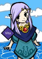 Vita -Wind waker character by Oldeforce
