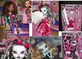 Custom OOAK Monster High Dolls by micaelajones