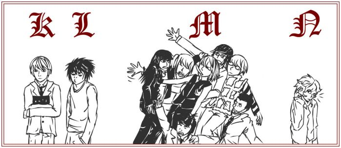 210 : Death Note : Alphabet by witegots