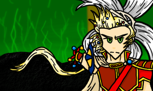 Dissidia Onion Knight -collab- by MrTwinklehead