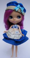 Blythe Outfit 'in the blue' by eponyart