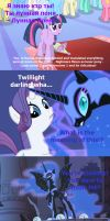 Nightmare Moon is angry at Russian TV by Zlobokot