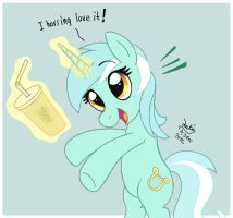 MLP FIM - Lyra Love It by Joakaha