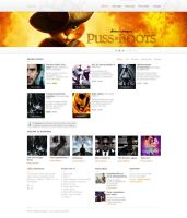 Cinema Web Design (Clean and Simple) by SycoLV