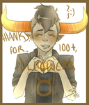 100 +! by GrimBlade51