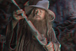 Gandalf 3-D conversion by MVRamsey