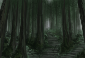 Forests and Mazes by Sareii