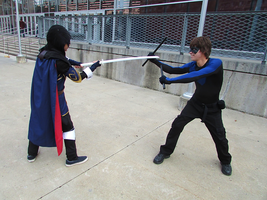 Lucina vs Nightwing 2 by J25TheArcKing