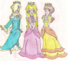 The Three Princesses-new- by LilacPhoenix