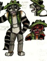 .:Five Nights at Freddy's:.Oc Rag The Raccoon by GalacticMc