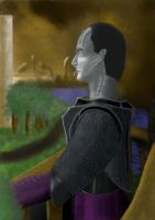 Thoughtful Cardassian Soldier by GulRejal