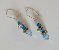 Atlantean Tears Earrings by Aethergoggles