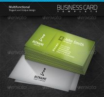 Multifunctional Business Card by artnook