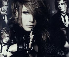 Wallpaper Uruha - The Gazette by GueBehind