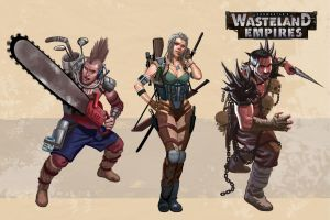 Wasteland Empires: Characters by ArtofTu