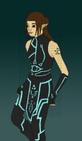 rensafi tron outfit wip by contra-rawr