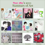 Art Summary 2012 by Danni-Chan15