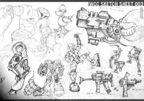 sketch sheet 003 by wiledog