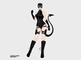 Catwoman (Ame-Comi) by Deviern