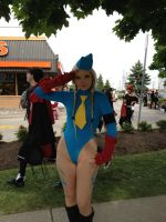 Cammy Salute by CosplayButterfly