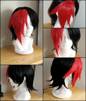Knives Scott Pilgrim wig commission by maggifan