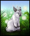 Jax the Jackalope by DolphyDolphiana