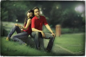 Romance at The Park by ditya