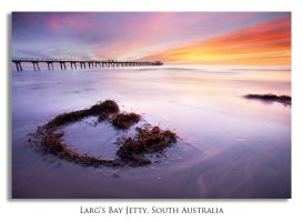 Dusk at Larg's by marianne-lim