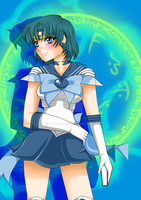 Super Sailor Mercury by KiaCookie