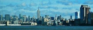 NYC Skyline by PureIdiocy
