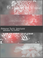4 muse lyric large texture 2 by Carllton