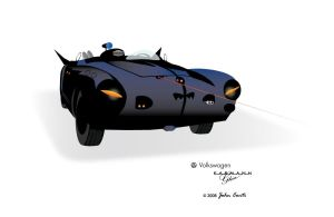 Batmobile by Ghia by jconti