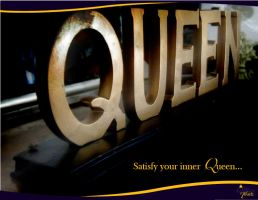 The Queen's Touch Ad by TheGoddessComplex