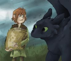 HTTYD - Share? by samasamu