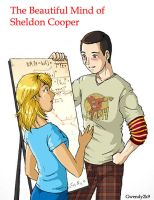 Beautiful Mind: Sheldon Cooper by gwendy85