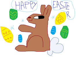 Happy Easter by Looji