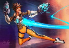 Overwatch: Tracer by Risachantag