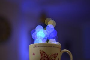 cup and lights by thisiscroy