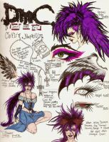 ...::DMC OC::Nephilim Caitlin::... by The-MuseDragon