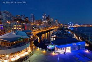 Pier 66 At Seattle Waterfront by SilentMobster42