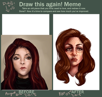 Draw this again meme! by kedostini