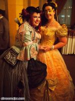 Belle and Rococo Punk at Labyrinth by aimeekitty
