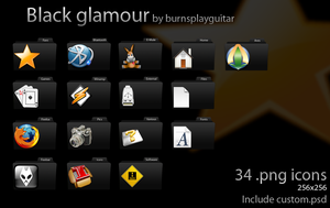 Black glamour by burnsplayguitar