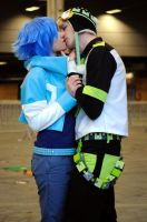 Dramatical Murder Aoba x Noiz 'Feel your noise' by Hirako-f-w