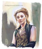 Margaery Tyrell Speed Paint by zerda-vulpes